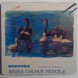 Lápices Acuarelables WildWorld 24