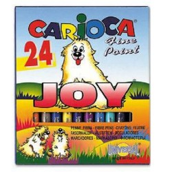 Rotuladores Carioca 24