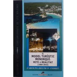 El model turístic menorquí: mite o realitat (1960-2015)