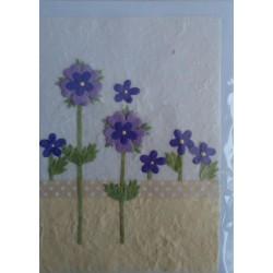Postal Natural flores