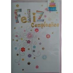 Postal Feliz Cumpleaños (Modelo 1)