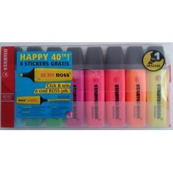 Pack 8 marcadores Stabilo Boss Original 70/8