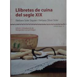 Llibretes de cuina del segle XIX