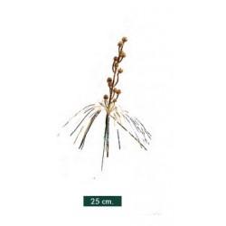 Pick Decorado Oro 25cm