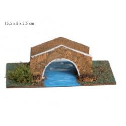 Puente con río