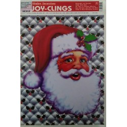Adhesivo Papà Noel cara 21x28cm