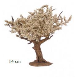 Árbol Flor Blanca 14cm