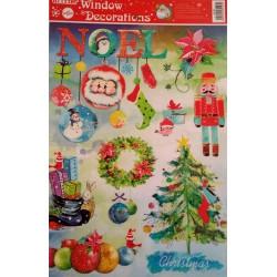 Adhesivo Noel (2) 20x30cm