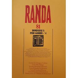 Randa 81. Homenatge a Pere Gabriel /4