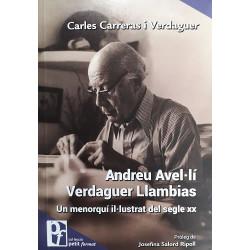 Andreu Avel·lí Verdaguer Llambias. Un menorquí il·lustrat del segle XX (Petit Format nº39)