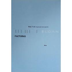 Talonario Mod. T-63 (Facturas)