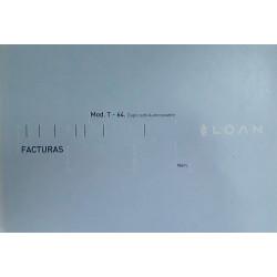 Talonario Mod. T-64 (Facturas)