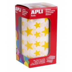Gomets Apli Estrellas Amarillas Ref. 4887