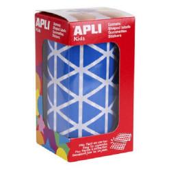 Gomets Apli Triángulos Azules Ref. 4868