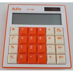 Calculadora Aura DT-180 Naranja