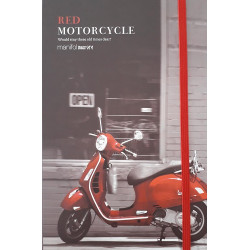 Cuaderno A5 Red Motorcycle