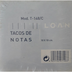 Tacos de Notas Loan Mod. T-148/C