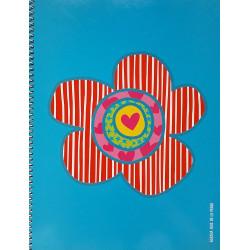 Cuadro 5x5 Tapa Dura Agatha Ruiz de la Prada (Flor)