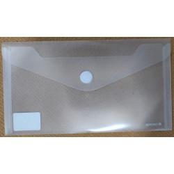 Sobre 23x12 cm plástico Carchivo (blanco)