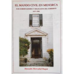 El mando civil en Menorca