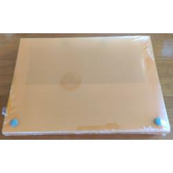 Maletín A4 plástico (naranja)