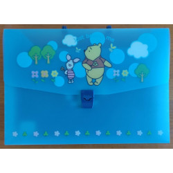 Maletín A4 plástico (Winnie the Pooh)