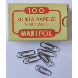 Clips Nº1 Niquelados (Manifol)