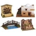 Casas, Pozos y Puentes